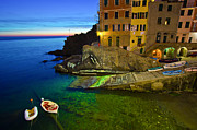 Christy Woodrow - Riomaggiore After Sunset...