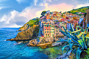 Dominic Piperata - Riomaggiore Morning -...