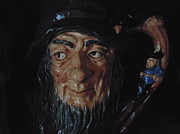 Canvas Ceramics - Rip Van Winkle by Dotti Hannum