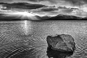Scottish Landscapes Prints - Ripple Effect Print by John Farnan
