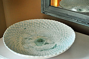Largemouth Bass Ceramics - Ripple Tide by Amanda  Sanford