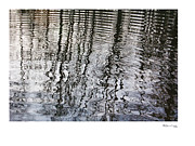 Xoanxo Cespon Framed Prints - Rippled Reflections 2 Framed Print by Xoanxo Cespon