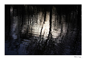 Xoanxo Cespon Prints - Rippled Reflections 3 Print by Xoanxo Cespon
