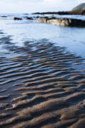 Ripples In The Sand Print by Anne Gilbert