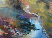 Contemplative Paintings - Ripples no. 2 by Melody Cleary