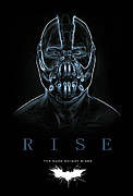 Film Posters Prints - Rise Print by Christian Colman