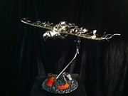 Phoenix Sculptures - Rise Up by Dan Daugherty