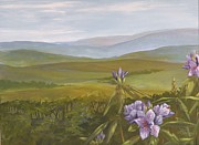 Piedmont Paintings - Rising by Lynne Summers