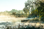 Debra Vronch Metal Prints - Rising Mist Metal Print by Debra Vronch