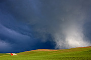 Mary Lee Dereske - Rising Storm Over the Palouse