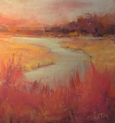 Georgia Pastels - Rising Sun by Karen Ann Patton