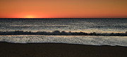 Early Morning Sun Photos - Rising To The Occasion - Jersey Shore by Angie McKenzie