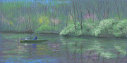 Waterscape Pastels Metal Prints - Rite of Spring Metal Print by Garry McMichael