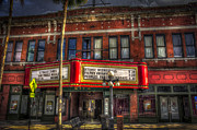 Brick Buildings Prints - Ritz Ybor theater Print by Marvin Spates