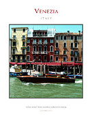 Famous Photographers Originals - Riva Boat Venice by Massimo Conti