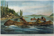 Rival Fur Traders  Print by Granger