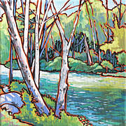 Nadi Spencer Metal Prints - River 4 Metal Print by Nadi Spencer