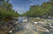 River Affric Print by Roy McPeak