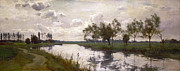 Famous Artists - River and Towpath by Alfred Parsons