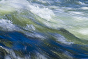 White River Prints - River Flow Print by Heiko Koehrer-Wagner