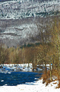 Kingston Prints - River in the Catskills Print by Tracy Winter