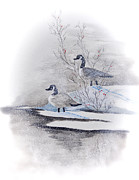 River Landing Print by Mary Timman