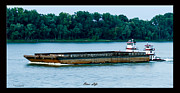 Ohio River Landscapes Posters - River Life Poster by David Lester