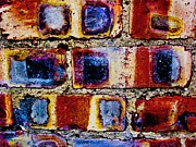 Ross Odom Metal Prints - River of Bricks Metal Print by Ross Odom