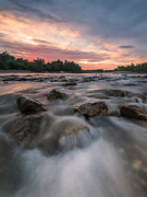 Colorful Sky Prints - River of Dreams Print by Davorin Mance