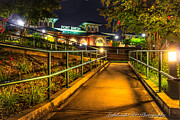 Fort Smith Arkansas Prints - River Park Print by Larry McMahon