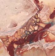 River Rock Print by Carlynne Hershberger