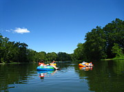 Outdoor Art - River Tubing - 12126 by DC Photographer