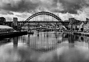 Quayside Prints Posters - River Tyne Bridges Poster by Trevor Kersley