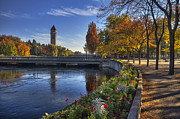 Spokane Art - Riverfront Park - Spokane by Mark Kiver