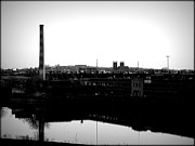 Riverside Industrialism Print by James Aiken