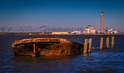 Chatham Art - Riverside Wreck by Dawn OConnor