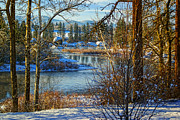 Spokane River Prints - Riverview II Print by Reflective Moments  Photography and Digital Art Images