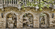 San Antonio River Walk Framed Prints - Riverwalk Archways Framed Print by Heather Applegate