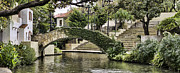 San Antonio River Walk Framed Prints - Riverwalk Charm Framed Print by Heather Applegate