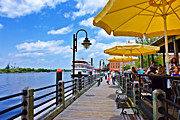 Riverwalk Prints - Riverwalk Print by Don Margulis