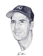 New York Yankees Paintings - Rizzuto by Tamir Barkan