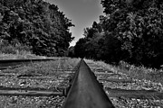 Rail Digital Art Originals - Road Less Traveled by Justin Marre
