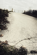 Old Roadway Photo Posters - Road Less Traveled Poster by Margie Hurwich