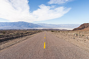 Muhie Kanawati Acrylic Prints - Road to Death Valley Acrylic Print by Muhie Kanawati