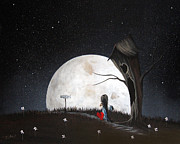 Road Sign Paintings - Road To Nowhere by Shawna Erback by Shawna Erback