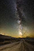 Milkyway Prints - Road to Nowhere - Great Rift Print by Aaron J Groen