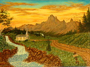 David Bentley Art - Road To Redemption by David Bentley