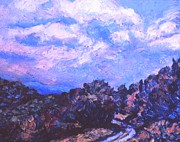 Blue Ridge Parkway Paintings - Road to Rocky Knob by Kendall Kessler
