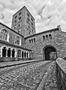 Cobble Stone Framed Prints - Road to the Gatehouse Framed Print by Mark Miller