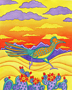 Roadrunner Paintings - Roadrunner Run by Aura Lesnjak